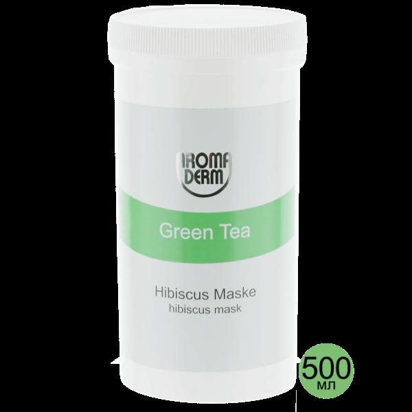 Маска Зеленый чай с гибискусом и алоэ, 500 мл