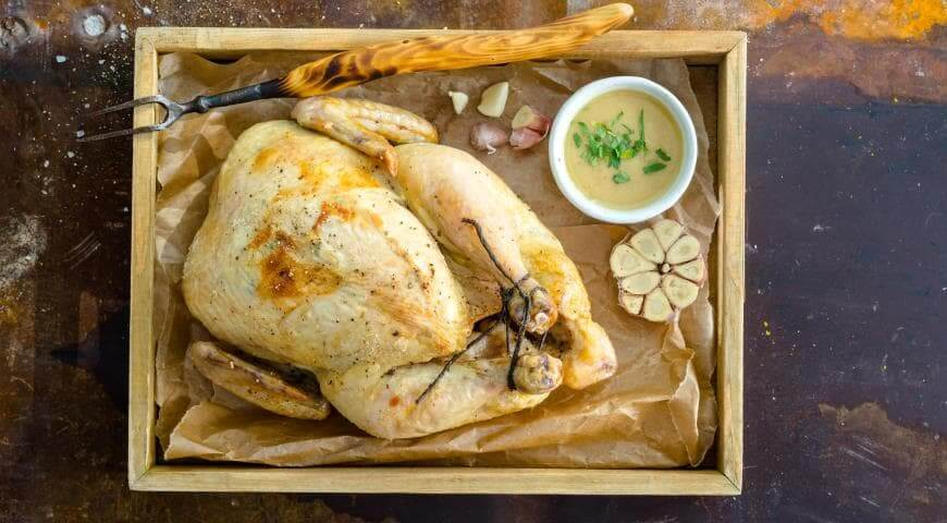 Блюда из курицы с добавлением эфирных масел